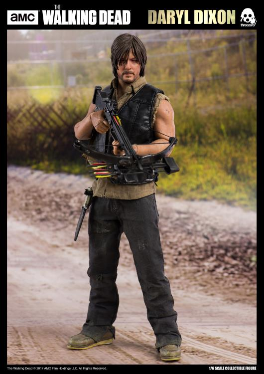 ThreeZero Walking Dead Daryl Dixon Sixth Scale Figure